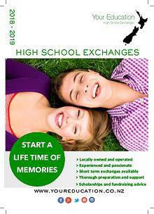 Your Education High School Exchanges Brochure