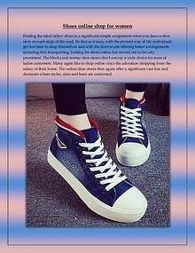 Shoes online shop for women