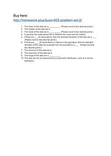BUSN 603 Problem Set 2