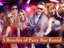 5 Benefits of Party Bus Rental