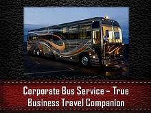 Corporate Bus Service – True Business Travel Companion