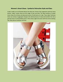 Women's Smart Shoes - Symbol of Attractive Style and Class