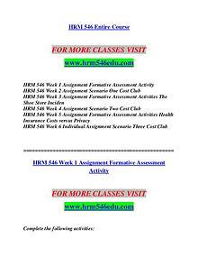 HRM 546 EDU Invent Yourself/hrm546edu.com