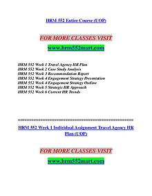 HRM 552 MART Invent Yourself/hrm552mart.com