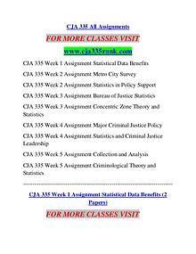 CJA 335 RANK Career Begins/cja335rank.com
