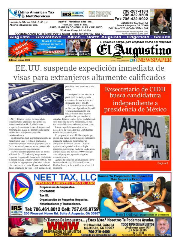 El Augustino March 2017 March 2017