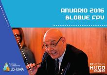 Anuario Bloque FPV - Concejal Hugo Romero