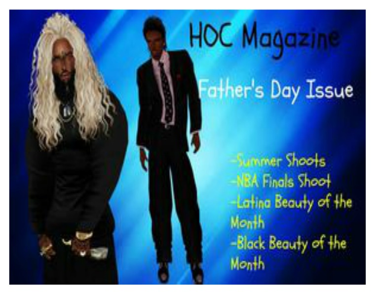 HOC Magazine Father's Day Issue