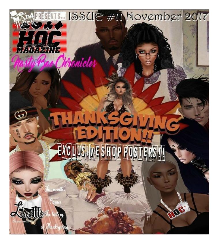 HOC Magazine Thanksgiving Issue