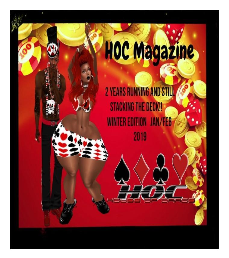 HOC Magazine 2nd Anniversary Winter Issue