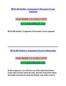 HUM 440 STUDY Invent Yourself/hum440study.com