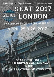 SEAT London 2017 Event Programme