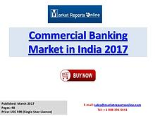 Commercial Banking Market in India 2017 Trends Analysis Report