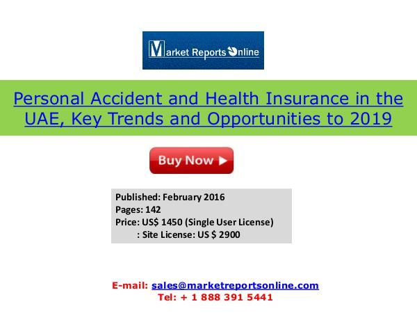 Personal Accident and Health Insurance in the UAE Feb 2016