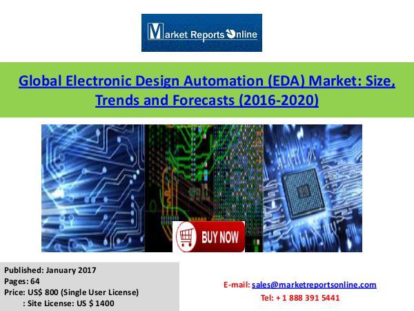 Electronic Design Automation (EDA) Market Global Analysis 2020 January 2017