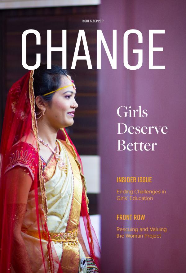 Change Magazine September 2017 Issue