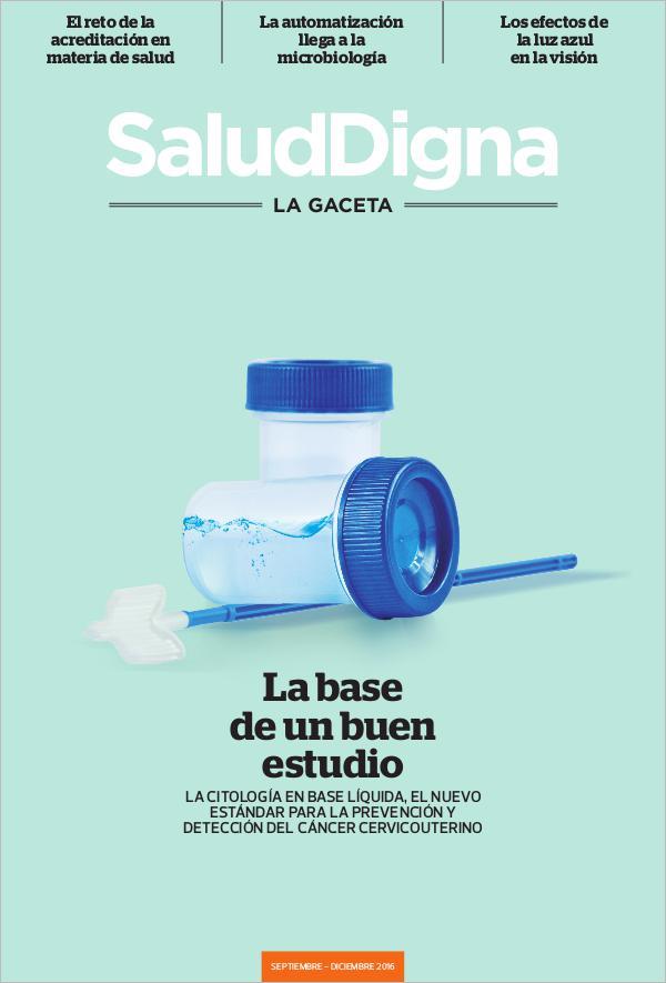Salud Digna - La Gaceta Septiembre - Diciembre 2016
