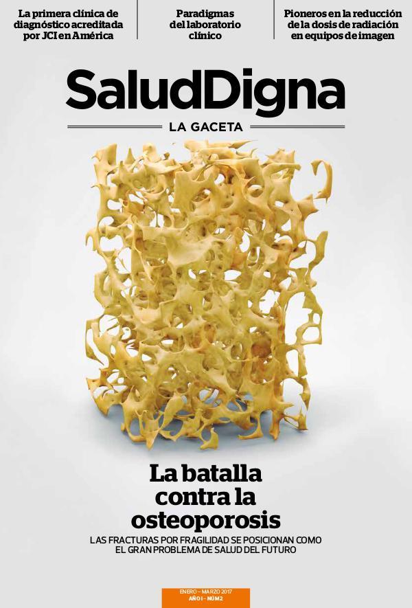Salud Digna - La Gaceta Enero - Marzo 2017