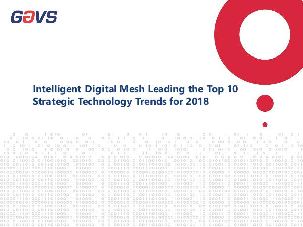 Intelligent Digital Mesh Leading the Top 10 Strate