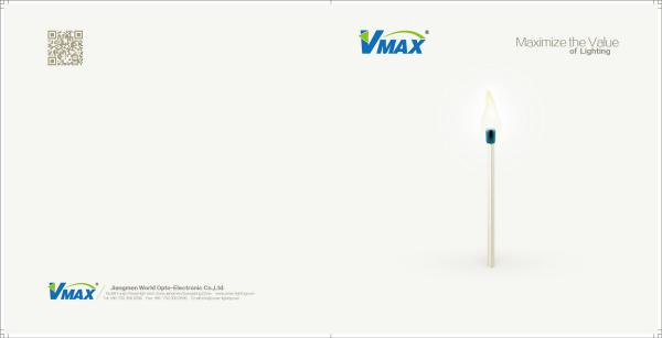 V.Max LED Lighting catalog 2016 residential,commercial and outdoor lightings