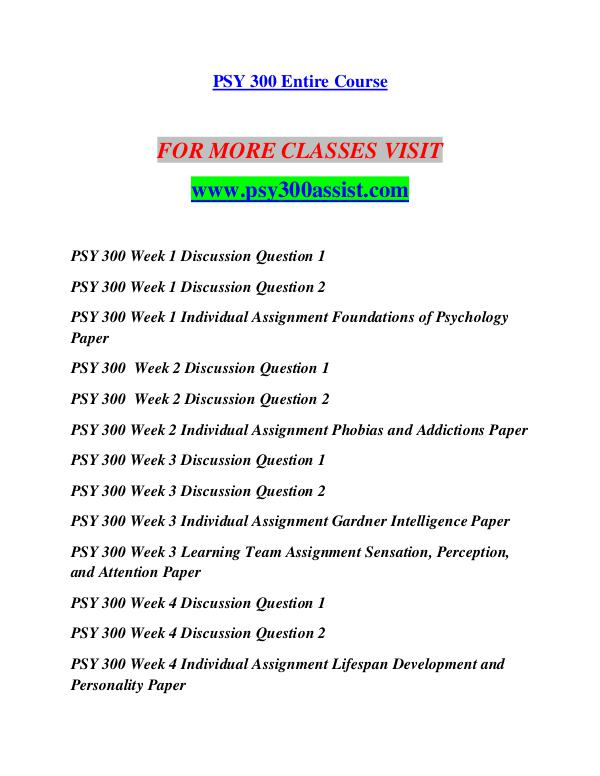 PSY -300- week 1- Foundations of Psy- Paper dox-orig-work