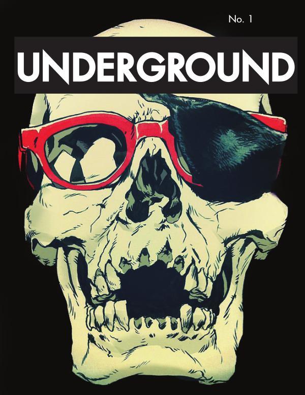Underground Art Magazine Issue 1 Illustrative (Extended)