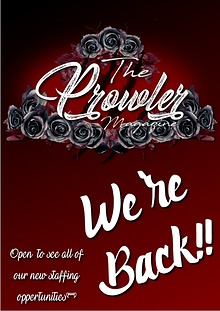 The New Prowler Magazine -We're Back