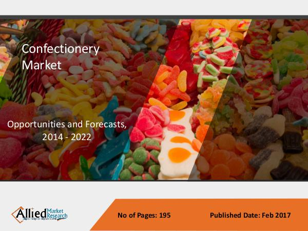 Confectionery Market Size, Share and Trends to 2022 Confectionery Market Size, Share and Trends to 202