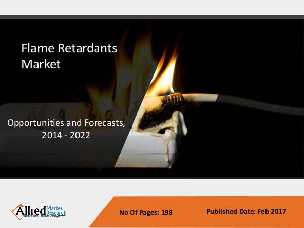 Flame Retardants Market size by Type and Applications - AMR Flame Retardants Market