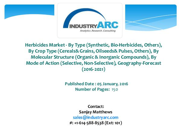 Herbicides Market Syngenta Primed to Sell Herbicide Products With Tal Herbicides Market Living up to its Moniker as