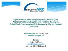 Algae Protein Market Expects Europe's Dominant Market Share to Las