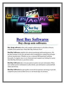 Buy Cheap Softwares Online
