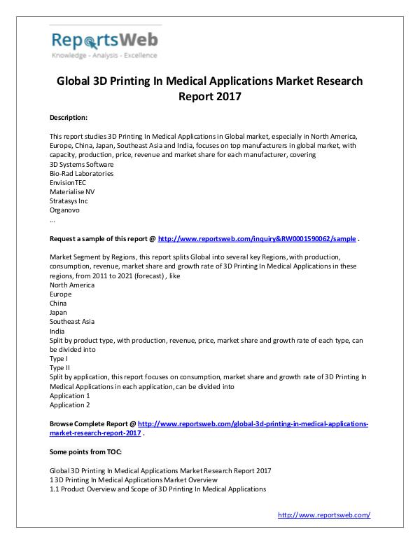 market analysis for 3d printer A new report by market analysis firm international data corporation suggests companies that incorporate 3d printing into their workflow are pleased with the results.