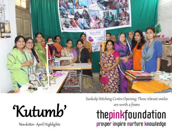 Kutumb- TPF Newsletter Newsletter 4- April