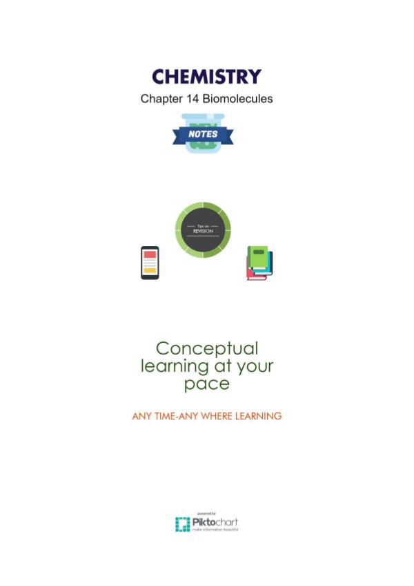 Chapter 14 Biomolecules, Class 12 Chemistry Chapter 14 Biomolecular, Chemistry Class 12