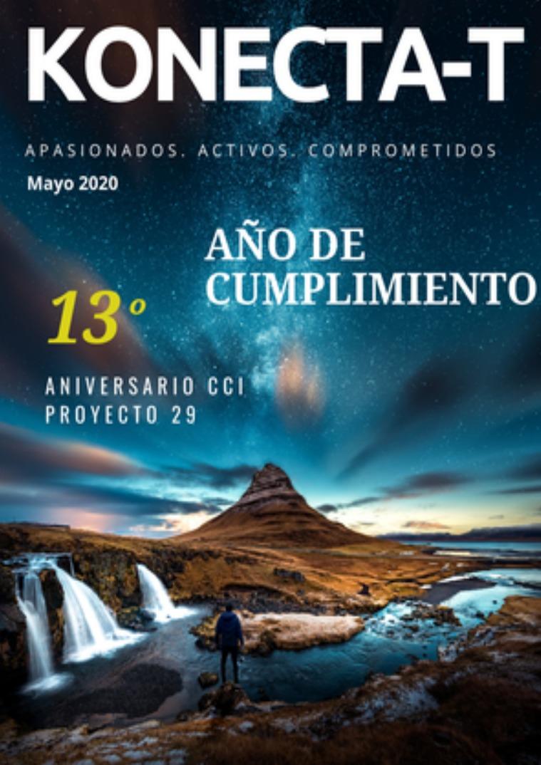 Boletín Konectate Edición Aniversario Mayo 2020