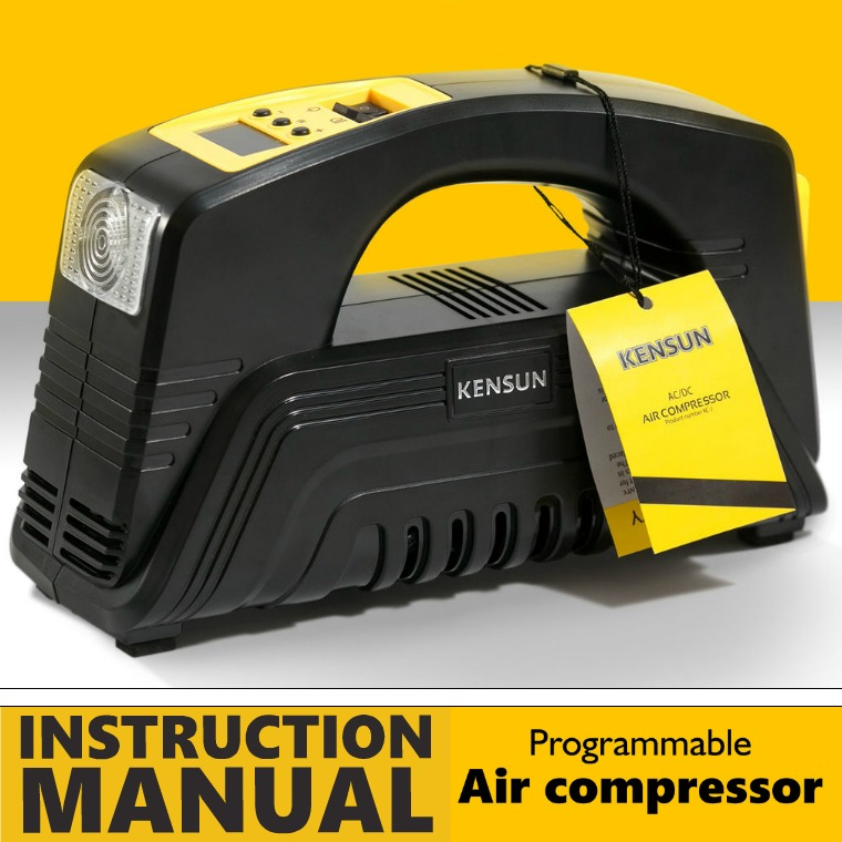 AIR COMPRESSORE MODEL H AC | DC - MODEL J