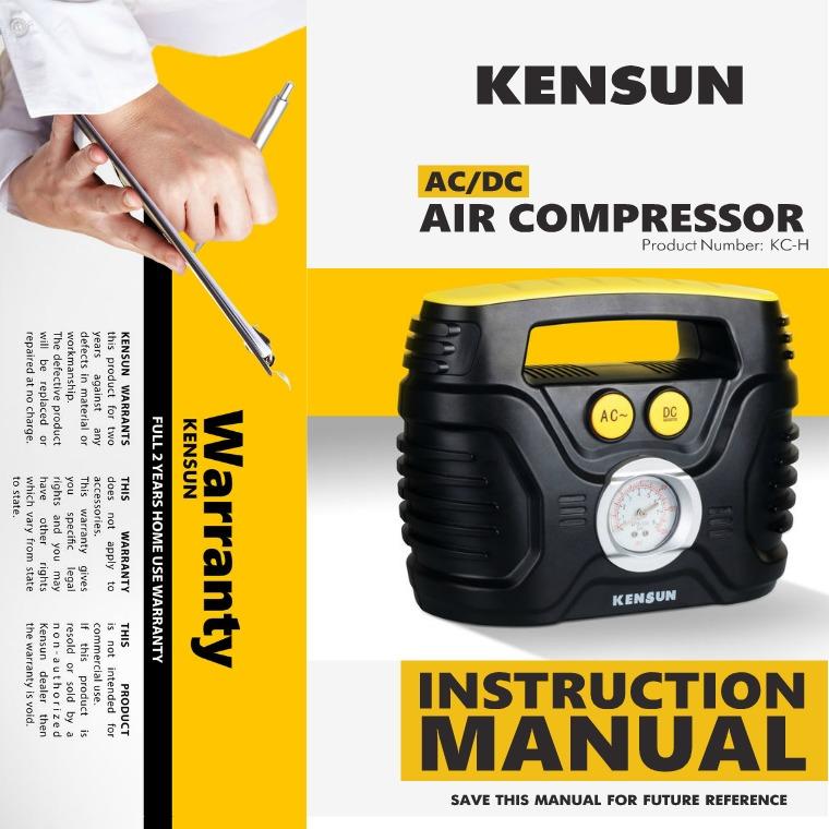 AIR COMPRESSORE MODEL H AC  | DC - MODEL H