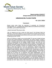 URGENCIAS DEL TLCAN 2a PARTE