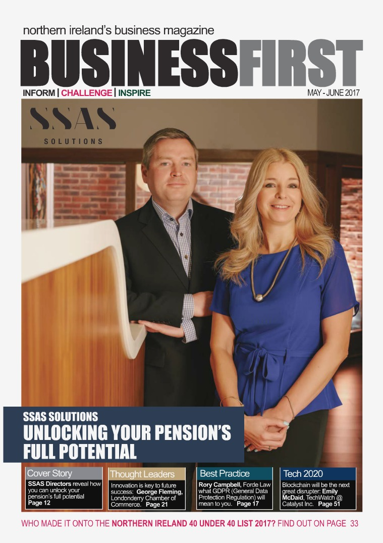 Business First May-June 2017 Business First May 2017