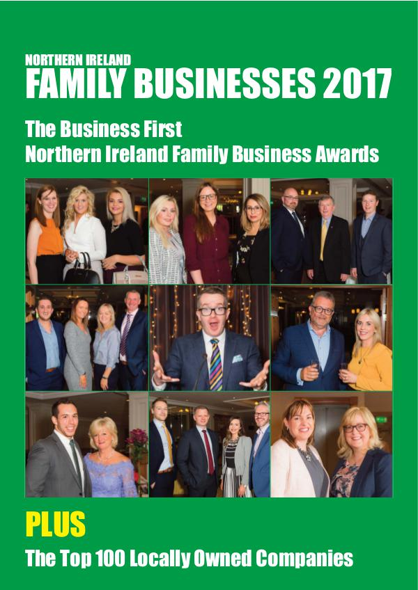 Northern Ireland Family Business Awards 2017 Family Business Awards 2017