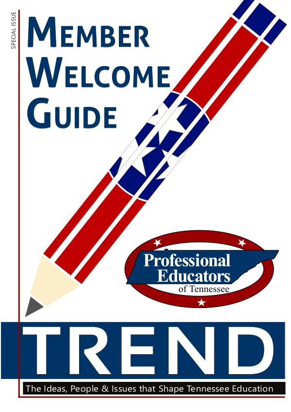 TREND - Special Edition Educator Guides TN Teacher Welcome Guide