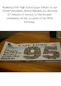 67 Minutes - Mandela Day 2013 July 2013