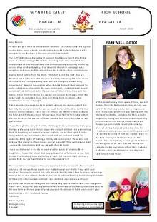 June 2013 - Newsletter