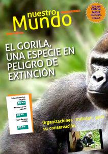 EL GORILA, ESPECIE EN PELIGRO DE EXTINCION JUN. 2013