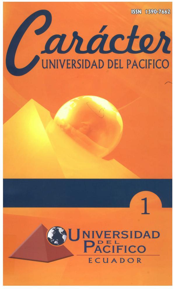 Revista Caracter 1 - 2012 Vol. 1