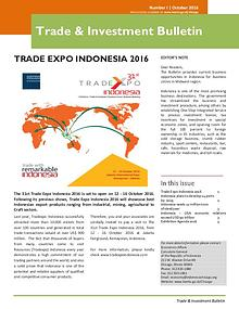 Trade and Investment Bulletin