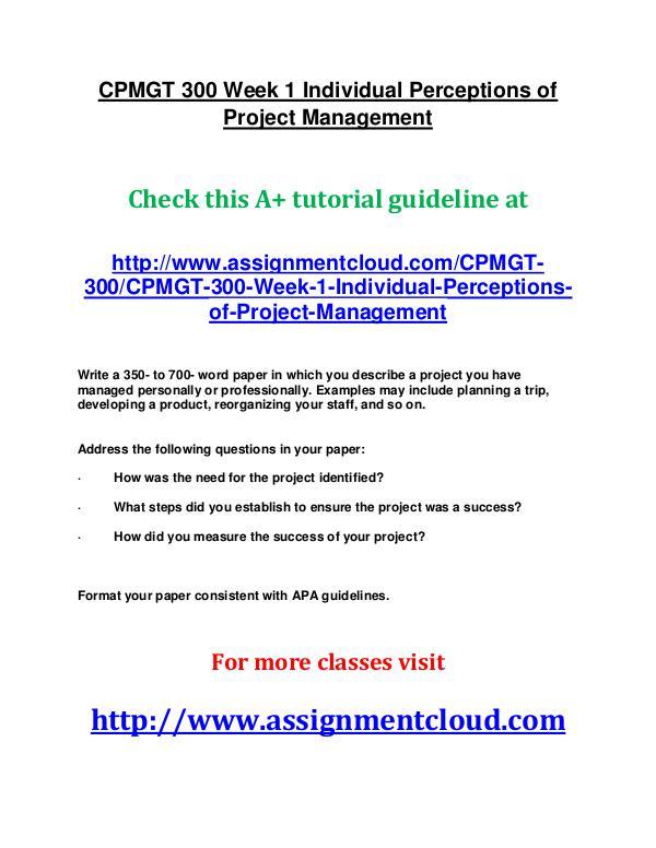 cpmgt 300 project proposal week 2 paper Bsop 588 complete week 2 bsop 588 week 2 project proposal bsop 588   bsop 588 week 3 paper measuring customer satisfaction bsop 588 week 3.