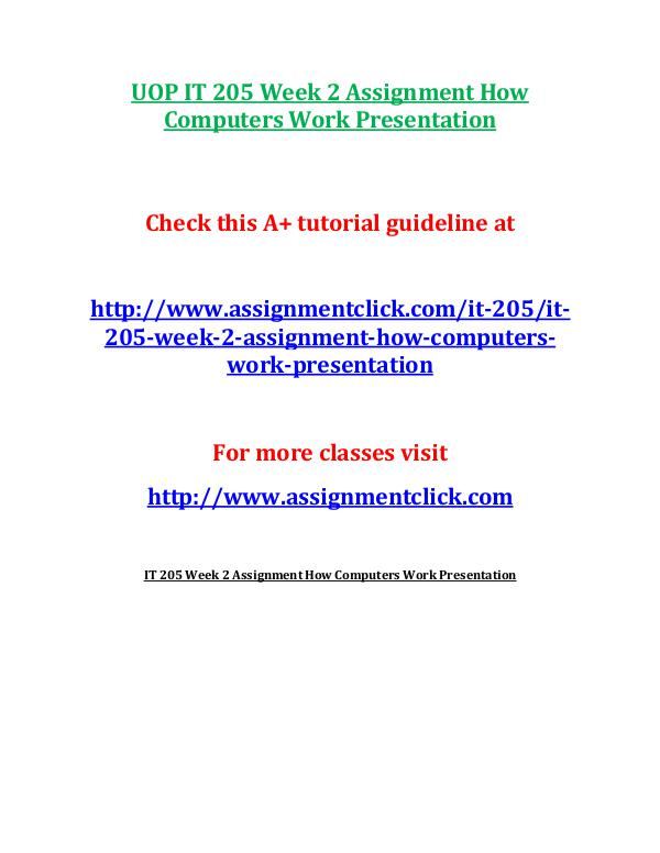 31581344 it205 it 205 check point analysis of electronic payment systems Uop mgt 312 week 3 knowledge check new check this a+ tutorial guideline at 1 what is the term used to describe performance hitches that arise most exclusively from lack of synchroni.