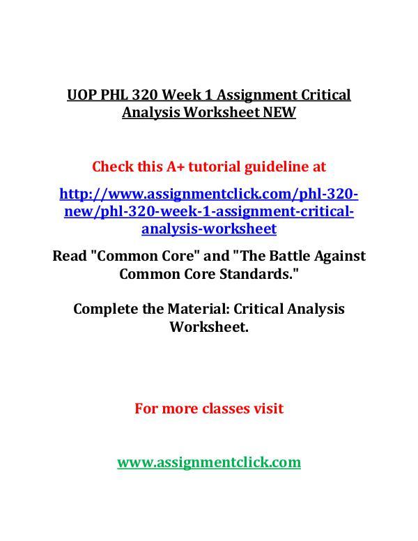 UOP GEN 201 Entire Course UOP GEN 201 Week 1 Individual Preparing for Academ
